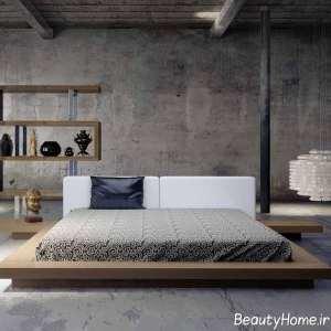 تخت خواب زیبا و ظریف