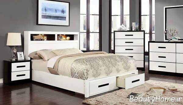 طراحی زیبای تخت خواب