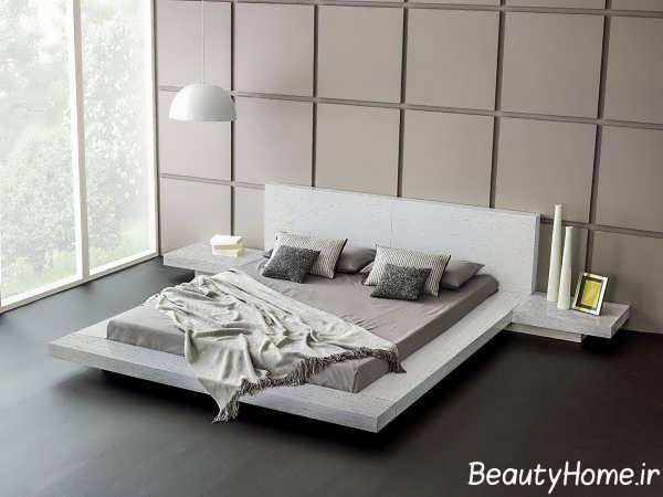 طراحی لاکچری تخت خواب