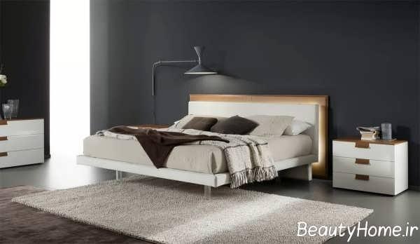 مدل زیبای تخت خواب