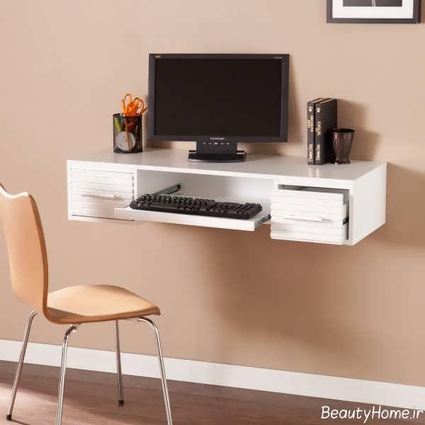 میز کامیپوتر سفید