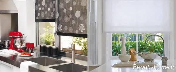 مدل پرده کرکره ای آشپزخانه
