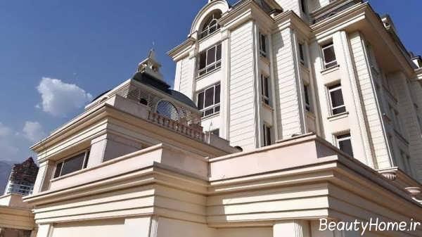نمای ساختمان زیبا و لوکس