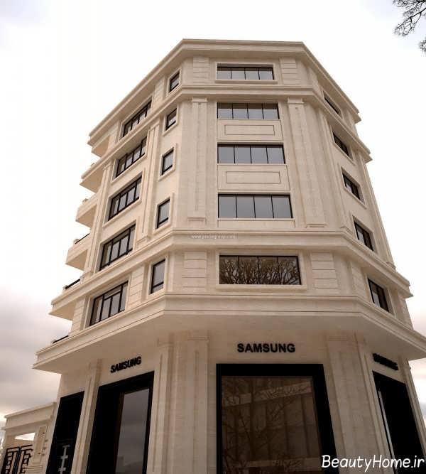 نمای خارجی و شیک ساختمان