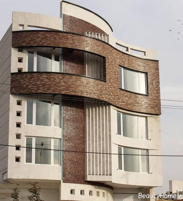 نما زیبا و شیک ساختمان