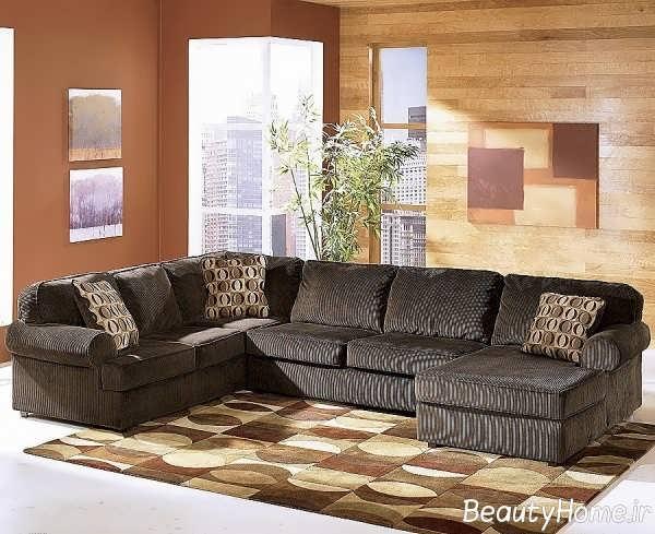طراحی عالی اتاق پذیرایی با تم خاکستری