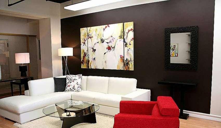 طراحی زیبای اتاق پذیرایی