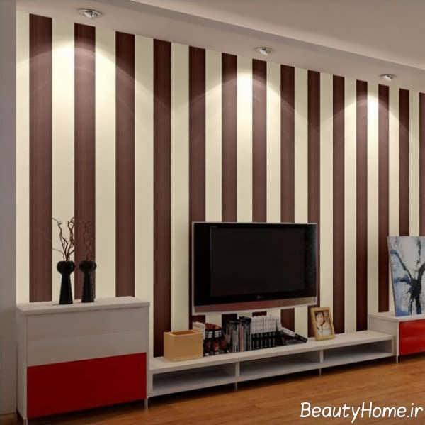 طراحی اتاق پذیرایی با تم جذاب