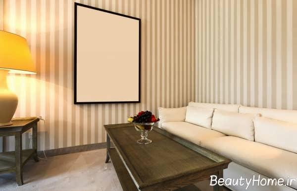 دیزاین اتاق نشیمن با تم جذاب