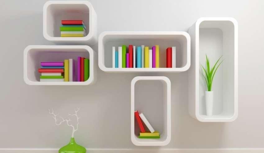 مدل قفسه کتاب