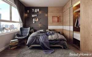 اتاق خواب پر انرژی و شیک