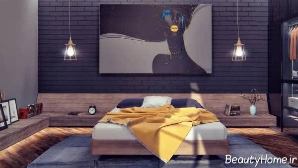 طراحی نورپردازی اتاق خواب