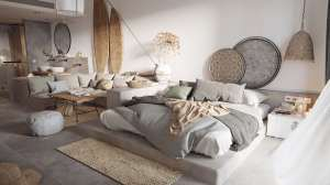 اتاق خواب پر انرژی
