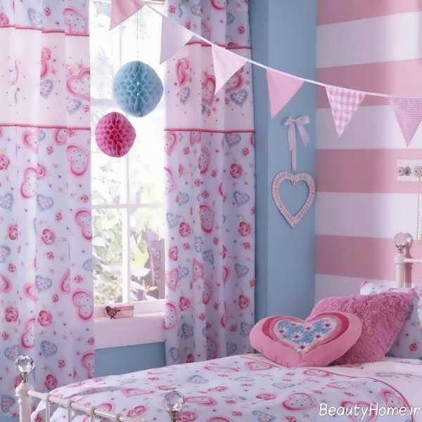مدل پرده اتاق خواب کودک