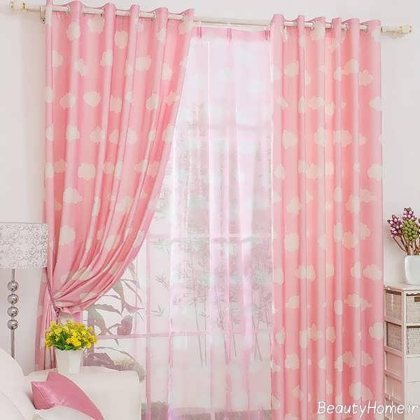 مدل پرده اتاق خواب دخترانه با طرح های متفاوت و دوست داشتنی