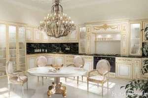 دکوراسیون داخلی آشپزخانه لاکچری