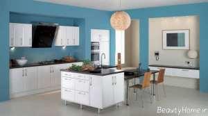 دکوراسیون مدرن آشپزخانه 2018