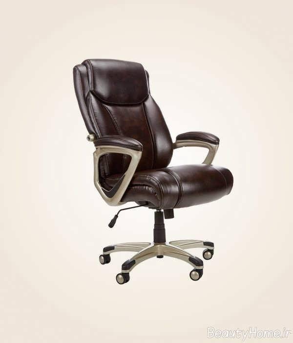 دیزاین چرمی صندلی رایانه