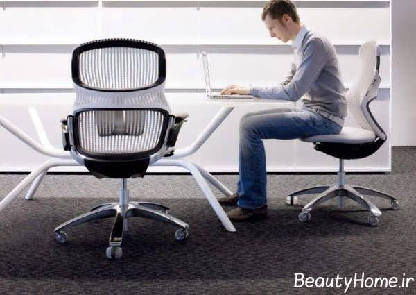 صندلی کامپیوتر با دیزاین جذاب