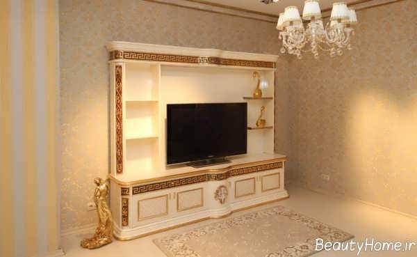 مدل میز تلویزیون کلاسیک و شیک