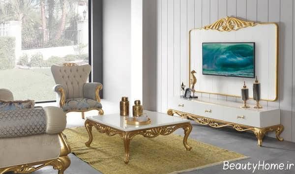 Royal TV desk (16)|, دکوراسیون داخلی | زیبایی خانه