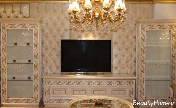 میز تلویزیون شیک و دیواری