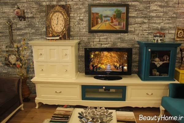 میز تلویزیون زیبا و سلطنتی