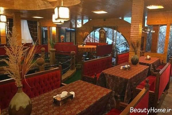 دکوراسیون شیک و خاص رستوران