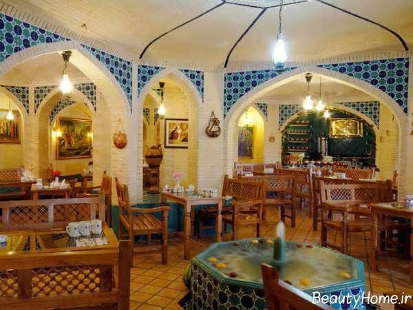 طراحی داخلی رستوران سنتی