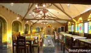 دکوراسیون داخلی شیک رستوران سنتی