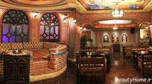 طراحی زیبا و شیک رستوران