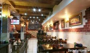 نورپردازی رستوران سنتی
