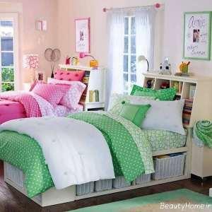 دکوراسیون داخلی اتاق خواب دخترانه نوجوان