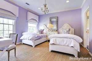 طراحی داخلی اتاق خواب نوجوان