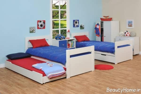 دکوراسیون داخلی اتاق خواب دوقلو