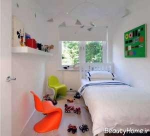 طراحی داخلی اتاق خواب یک نفره