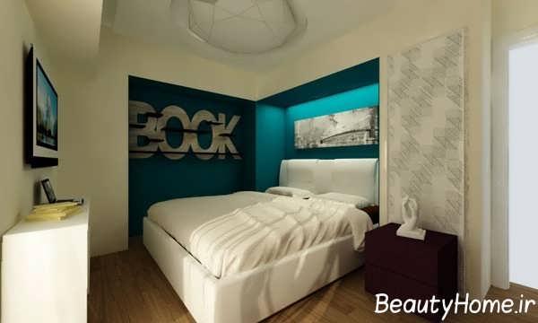 دکوراسیون زیبا و مدرن اتاق خواب