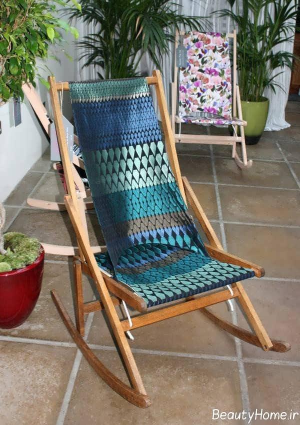 طراحی جذاب صندلی راحتی راک