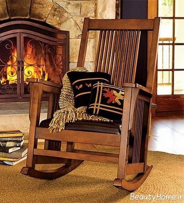 مدل زیبای صندلی راک