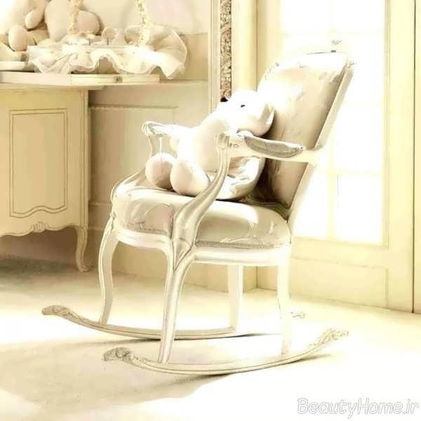 صندلی شومینه ای با طراحی زیبا
