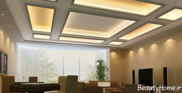 نورپردازی کناف سقف