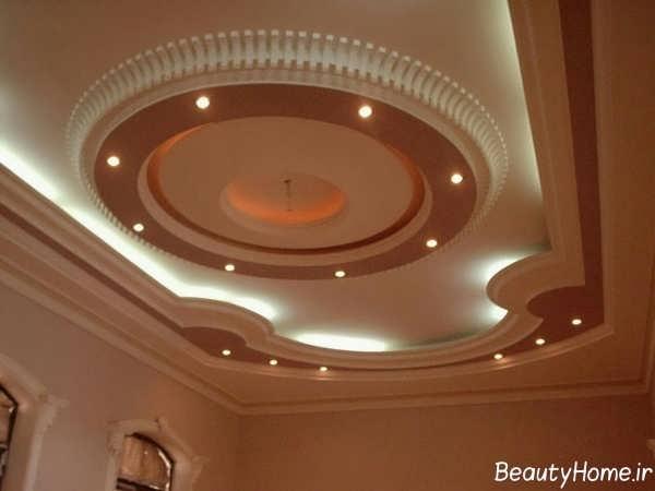نورپردازی کناف سقف پذیرایی