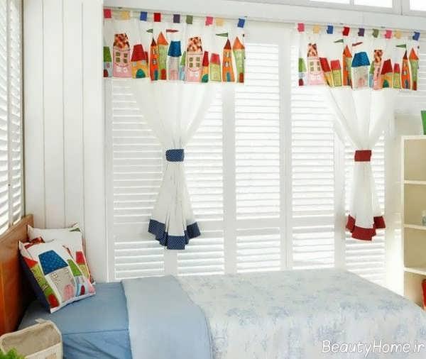 مدل پرده زیبا و طرح دار برای اتاق کودک