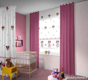 مدل پرده شیک و زیبا برای اتاق کودک