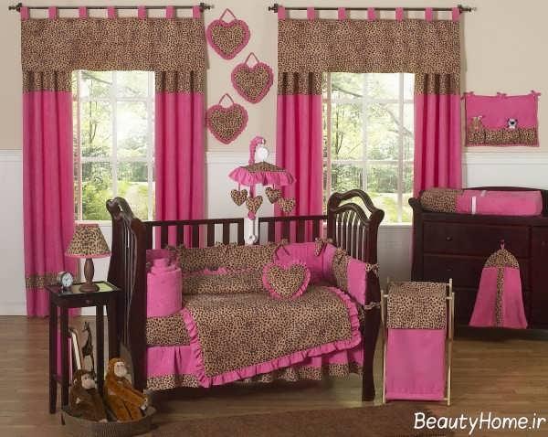 مدل پرده برای اتاق کودک