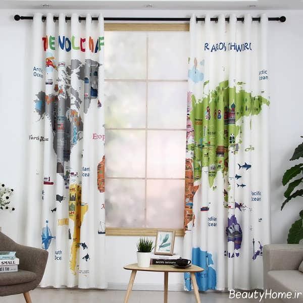 مدل پرده شیک و طرح دار برای اتاق کودک