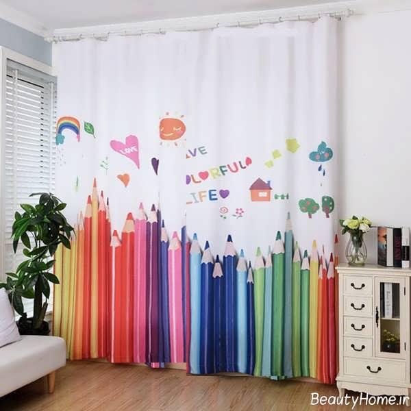 مدل پرده شیک و فانتزی برای اتاق کودک