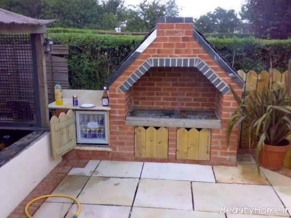 طراحی باربیکیو برای حیاط، پشت بام و بالکن با ایده های مدرن