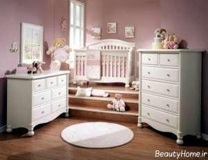 سرویس خواب کلاسیک نوزاد