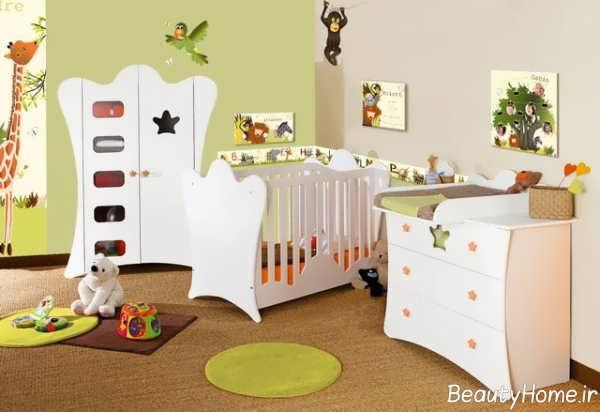 سرویس خواب ساده و جذاب نوزاد